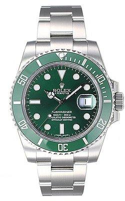 (ロレックス) ROLEX 腕時計 サブマリーナデイト 116610LV グリーン メンズ [並行輸入品]