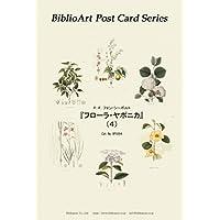 BiblioArt Post Card Series シーボルト 『フローラヤポニカ』 (4) 6枚セット(解説付き)