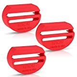 eZtotZ BuckleShield Seatbelt Buckle Cover - Made in USA - Cover Prevents Children from Accidentally Unbuckling - Premium Buckle Cover Heavy Duty ABS Plastic- Universal Fit (3 Pack)