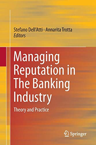 Download Managing Reputation in The Banking Industry: Theory and Practice 3319803085