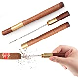 Scotte New Cigar Draw Enhancer Tool & Nubber/Sangle Sopffy Cigar Draw with Wooden Case/Perfect for Cigar Lovers