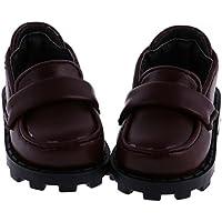 Lovoski PUレザー  靴  1/4 BJD SD DOD LUTSドルフィー 人形適用  ドレスアップ アクセサリー 3色選べる  - 3
