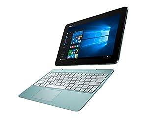 【Amazon.co.jp限定】ASUS 2in1 パソコン T100HA/Win10/10.1型/Atom x5-Z8500 /4Gメモリ/ eMMC64GB/ブルー/T100HA-FU024T
