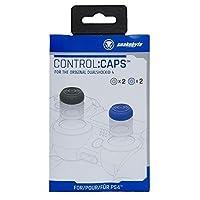 Snakebyte Snakebyte Control:Caps - 4x Thumb Grips for Playstation 4 (2x Black/ 2x Blue) - PlayStation 4 [並行輸入品]