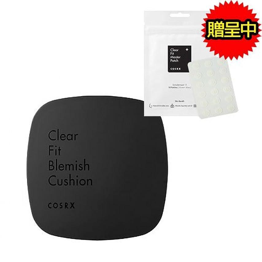 柔らかい足生じる災害[にきびパッチ1枚贈呈中] COSRX Clear Fit Blemish Cushion 15g/COSRX クリア フィット ブレミッシュ クッション 15g (#27 Deep Beige) [並行輸入品]