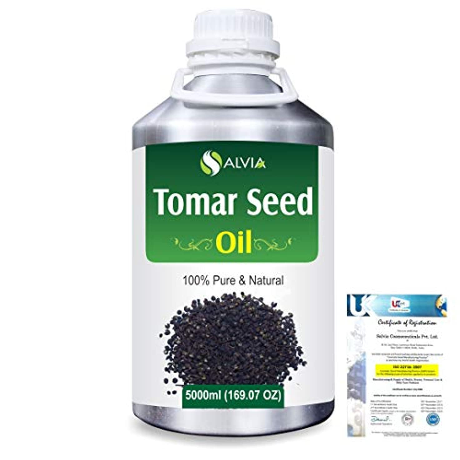 カエル経済的リビングルームTomar Seed (Zanthozylum armathum) 100% Natural Pure Essential Oil 5000ml/169fl.oz.