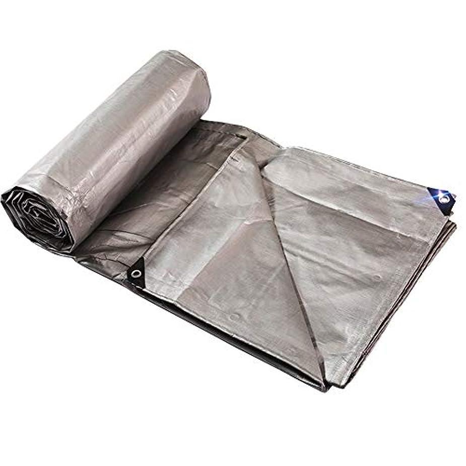 充電群れつま先Yushengxiang 防水布防水防水シート防水ポンチョキャンプマットカーゴ日焼け止め絶縁耐摩耗酸化防止剤 (Color : Grey, サイズ : 5x8M)