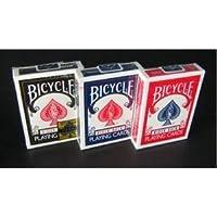 【トランプ】BICYCLE(バイスクル) ライダーバック ポーカーサイズ 【ブラック】単品 ds-464093