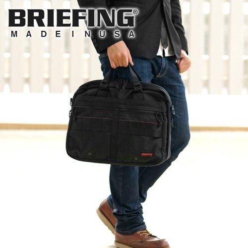 ブリーフィング BRIEFING 2wayブリーフケース ビジネスバッグ [RED LINE] [SL LINER] BRF092219 1.ブラック