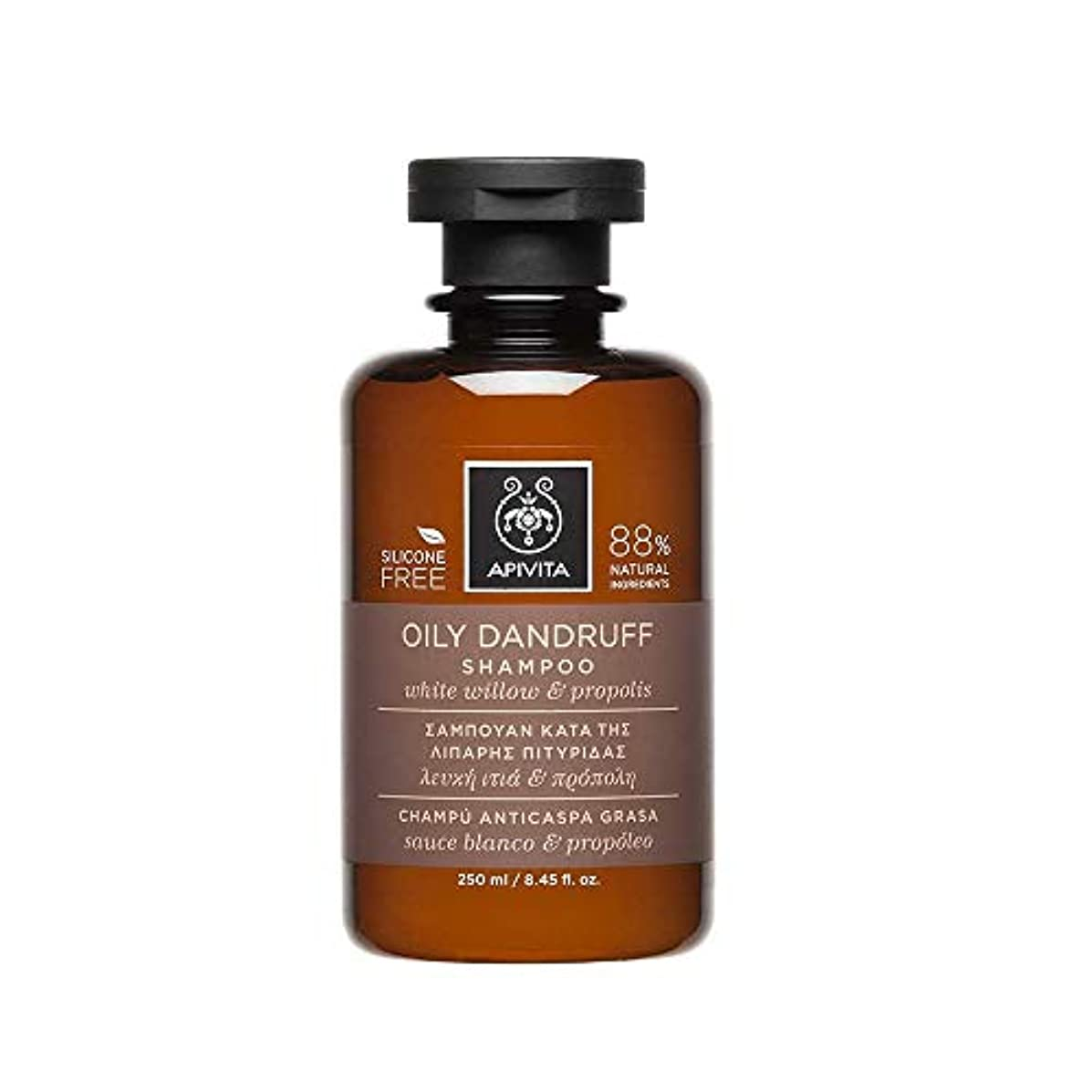 ルートかかわらず下線アピヴィータ Oily Dandruff Shampoo with White Willow & Propolis (For Oily Scalp) 250ml [並行輸入品]