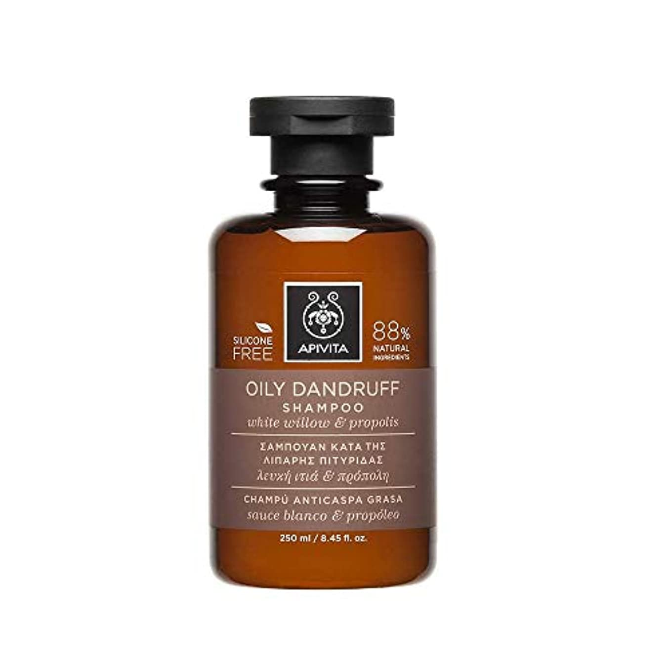 相談する笑タワーアピヴィータ Oily Dandruff Shampoo with White Willow & Propolis (For Oily Scalp) 250ml [並行輸入品]