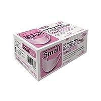 フジサージカルマスク スモールピンク 50枚 小さめ 小さいサイズ 女性用 子供用 ピンク