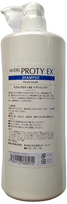 パック有効化レジ香栄化学 モデルプロティEXヘアシャンプー1000ml