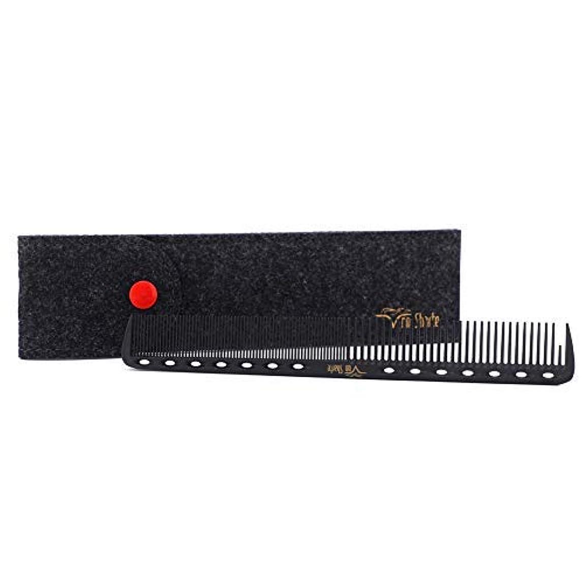 患者銅アラスカBarber Comb,Hair Cutting Combs Carbon Fiber Salon Hairdressing Comb 100% Anti Static 230℃ Heat Resistant with...