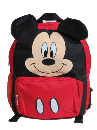 Small Backpack - Disney - Mickey Mouse Face/Ears New School Bag 625238
