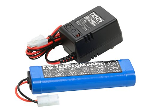 7.2Vカスタムパックと充電器 RCバッテリー 55087