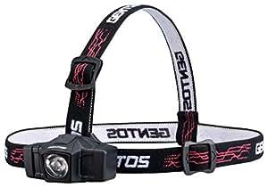 ジェントス ヘッドライト GD-000シリーズ 【明るさ50ルーメン/実用点灯8時間】 GD-002D
