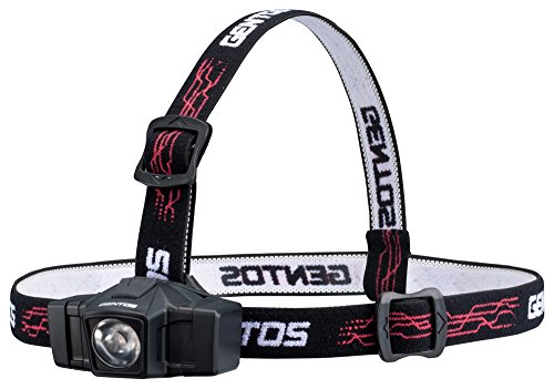 ジェントス LED ヘッドライト 【明るさ50ルーメン/実用点灯8時間/防塵/防滴】 GD-002D