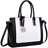 Miss Lulu Handbags for Women Laptop Shoulder Bags Cross Body Bag Ladies Fashion PU Leather Large Tote Bag