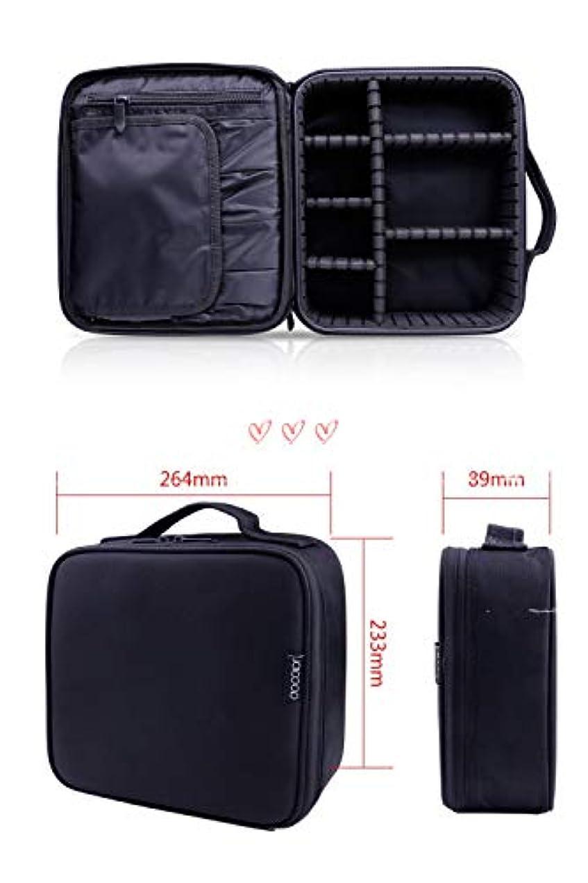 感性変わるディレクトリDocolor ドゥカラー プロ用 メイクボックス 高品質 機能的 大容量 化粧ポーチ メイクブラシバッグ 収納ケース スーツケース?トラベルバッグ 化粧 バッグ メイクブラシ 化粧道具 小物入れ