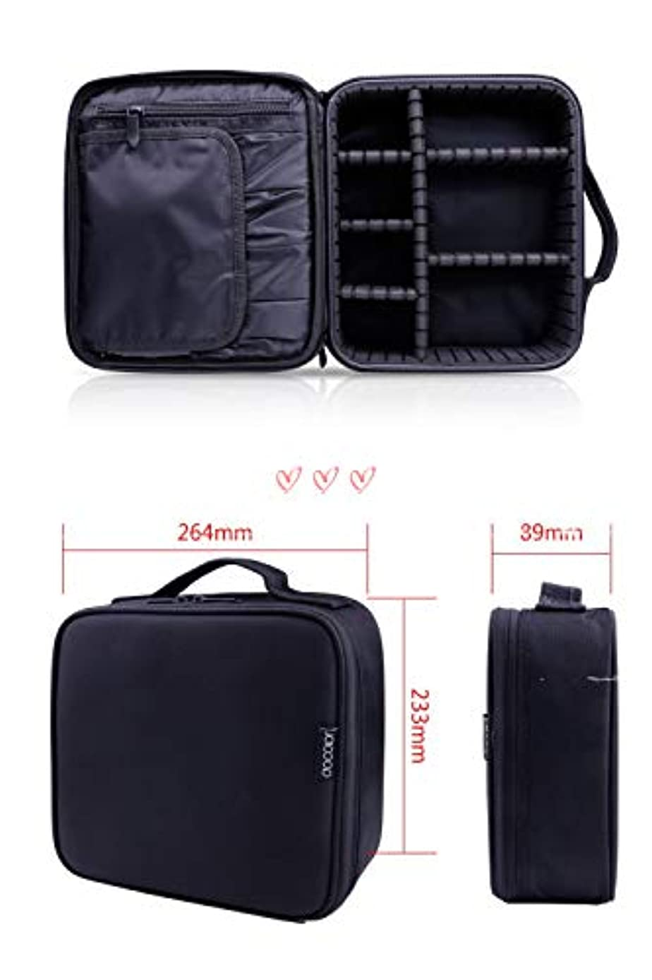 しゃがむ全部ラフレシアアルノルディDocolor ドゥカラー プロ用 メイクボックス 高品質 機能的 大容量 化粧ポーチ メイクブラシバッグ 収納ケース スーツケース?トラベルバッグ 化粧 バッグ メイクブラシ 化粧道具 小物入れ