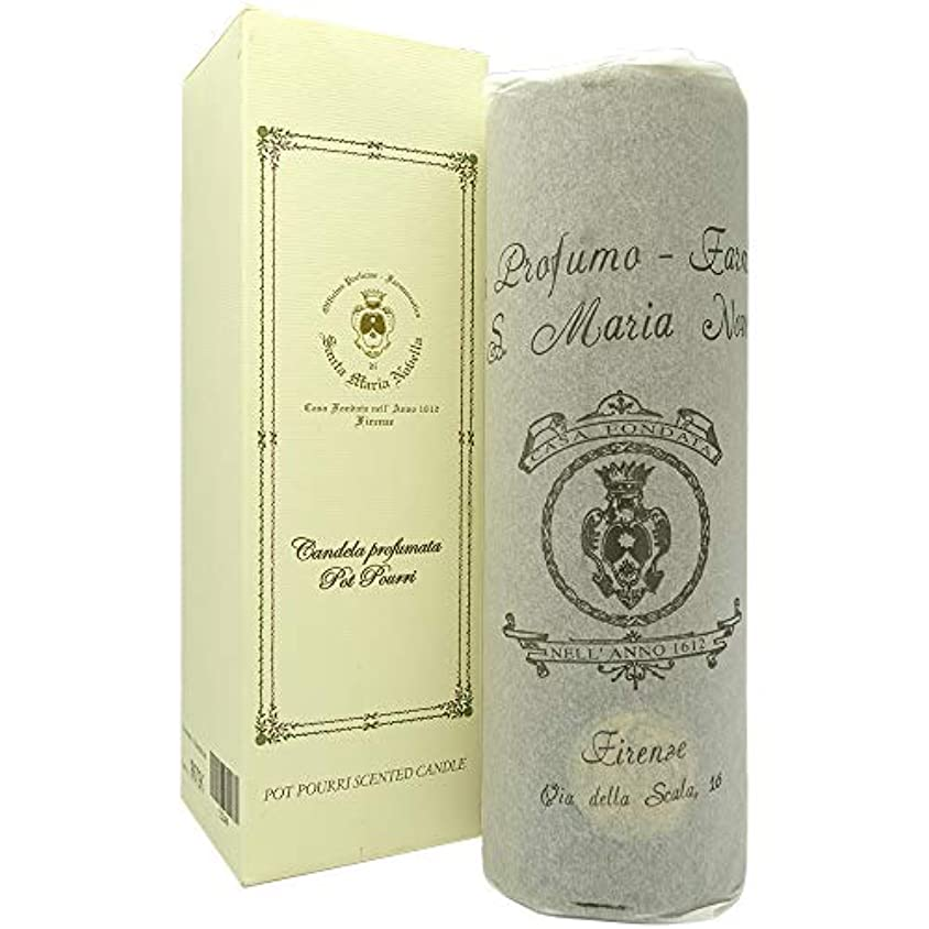 サンタ マリア ノヴェッラ SANTA MARIA NOVELLA アロマ キャンドル ポプリ 18cm [並行輸入品]
