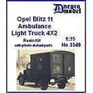 オペルブリッツ 1tトラック 救急車 フルキット Opel Blitz 1t Ambulance Light Truck 4×2 [3549]