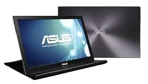 ASUS 薄い・軽量、USBで簡単接続、15.6型フルHD モバイルディスプレイ ( 厚さ8mm / 重さ800g / 1,980×1,080 / USB3.0 / ノングレア / 3年保証 ) MB168B+