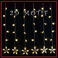 LEDイルミネーションモチーフLEDスターカーテン/LDCM051