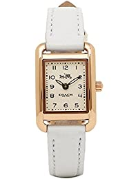 [コーチ] 時計 COACH トンプソン THOMPSON レディース腕時計ウォッチ ブラウン 14502297 ホワイト [並行輸入品]