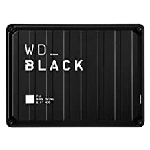 5TB WD Black P10 Game Drive, Compatible with PS4, Xbox One, PC, Mac - WDBA3A0050BBK-WESN