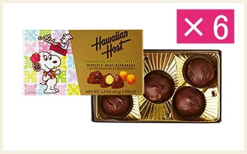 かかわらずそのような何故なのベル ハワイアンハニーマカデミアナッツチョコレート(5粒)×6箱