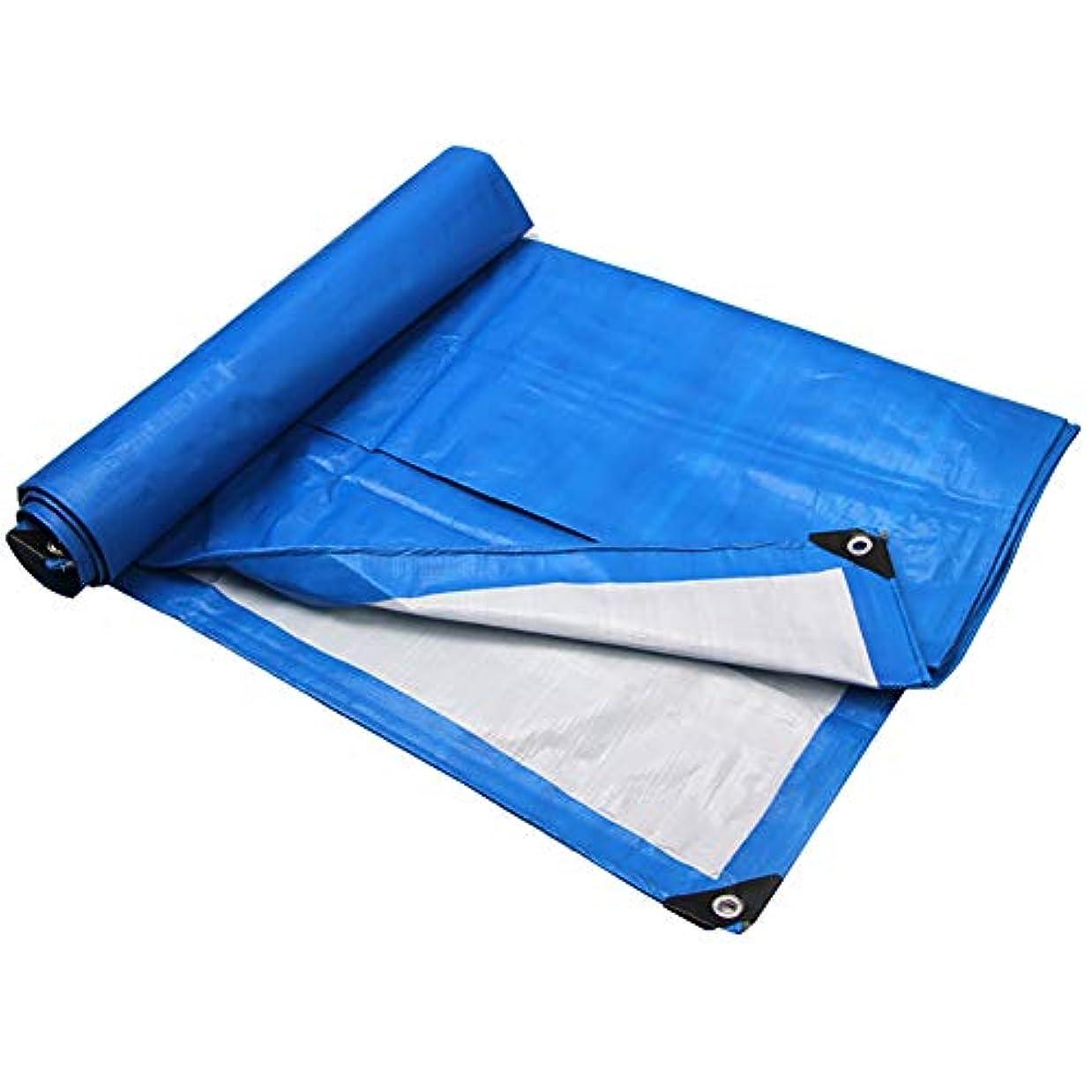 亡命旅配送XJZxX 防雨布プラスチック布防水布ターポリン肥厚シェードカラーストリップポンチョキャンバストラックキャノピーターポリン (サイズ さいず : 4×5M)