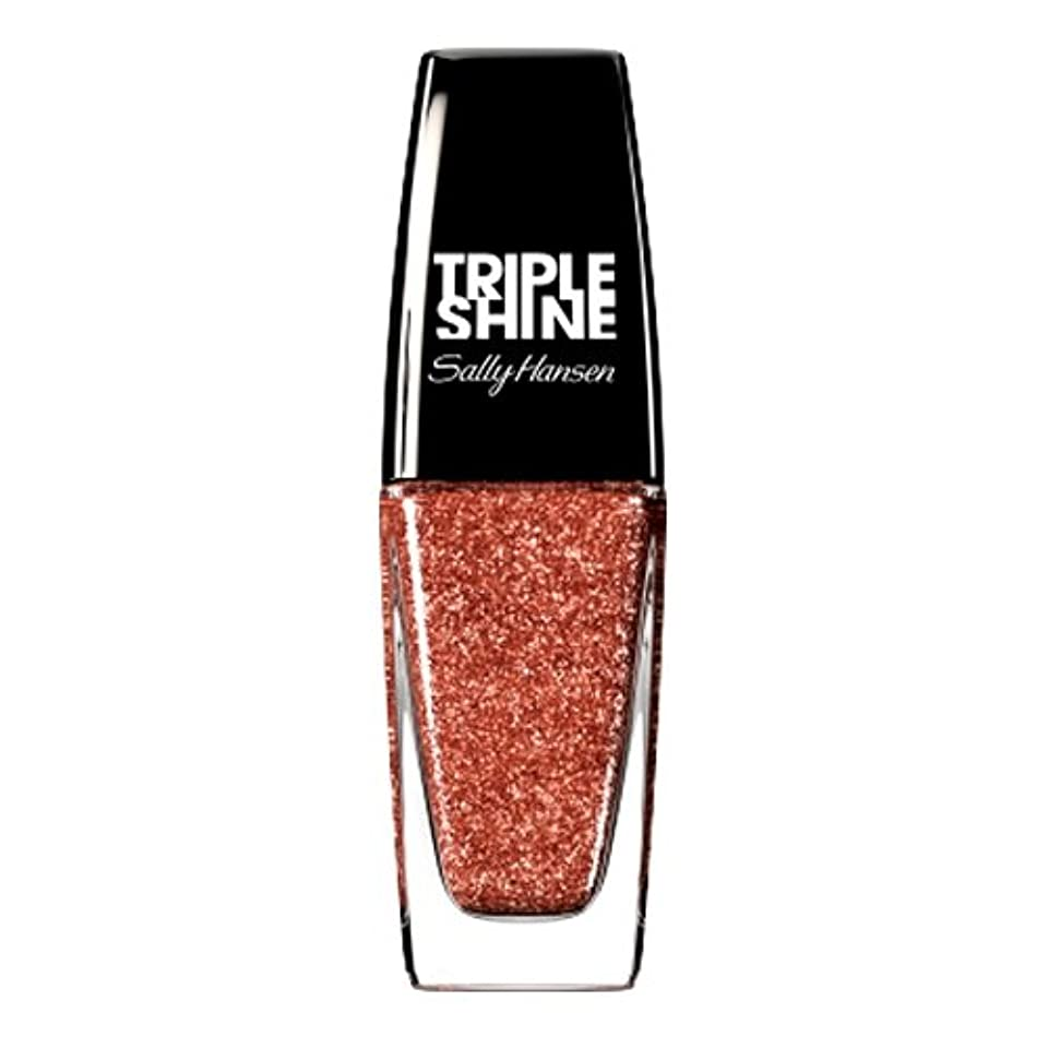 フェンス教育者急ぐ(3 Pack) SALLY HANSEN Triple Shine Nail Polish - Dream Sequins (並行輸入品)