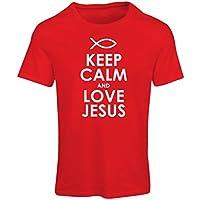 女性用Tシャツキリスト教の神イエス