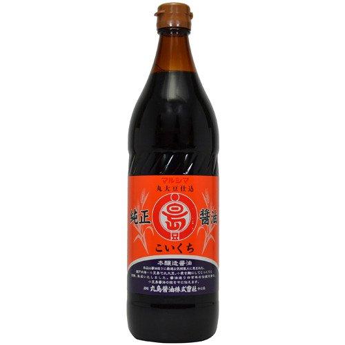 丸島醤油 純正醤油 濃口 900ml...