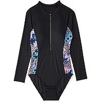Speedo Women's ECO Fabric Paddle Suit, Blk/Medal