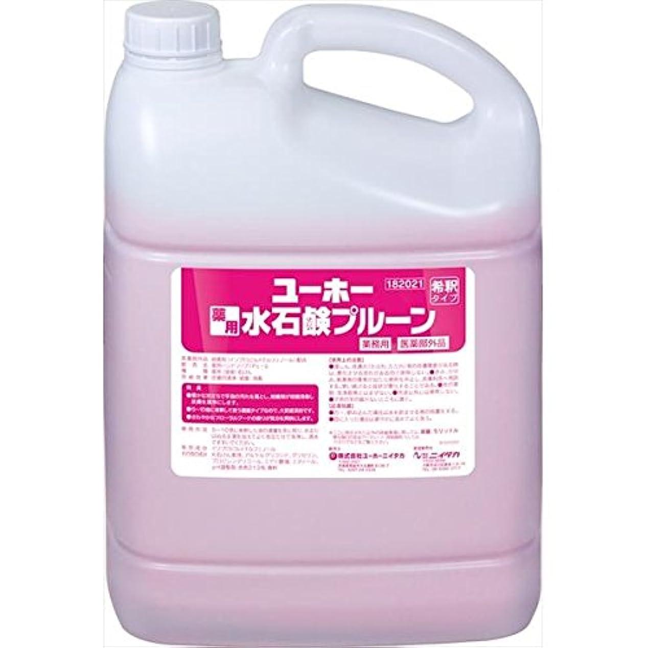 許される豚追い払うユーホーニイタカ:薬用水石鹸プルーン 5L×2 181021