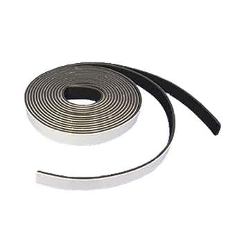 東京防音 防音戸当たりテープ TP-25 黒 幅15mm×長2M×厚2.5mm 2本入
