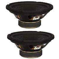 2 Goldwood Sound GW-208/4 OEM 8 Woofers 200 Watts each 4ohm Replacement Speakers [並行輸入品]