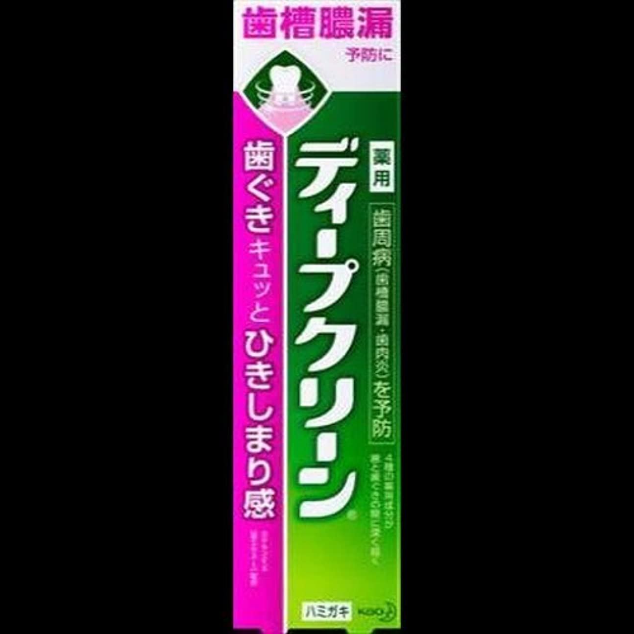 博覧会アクセント極貧【まとめ買い】ディープクリーン 薬用ハミガキ 100g ×2セット