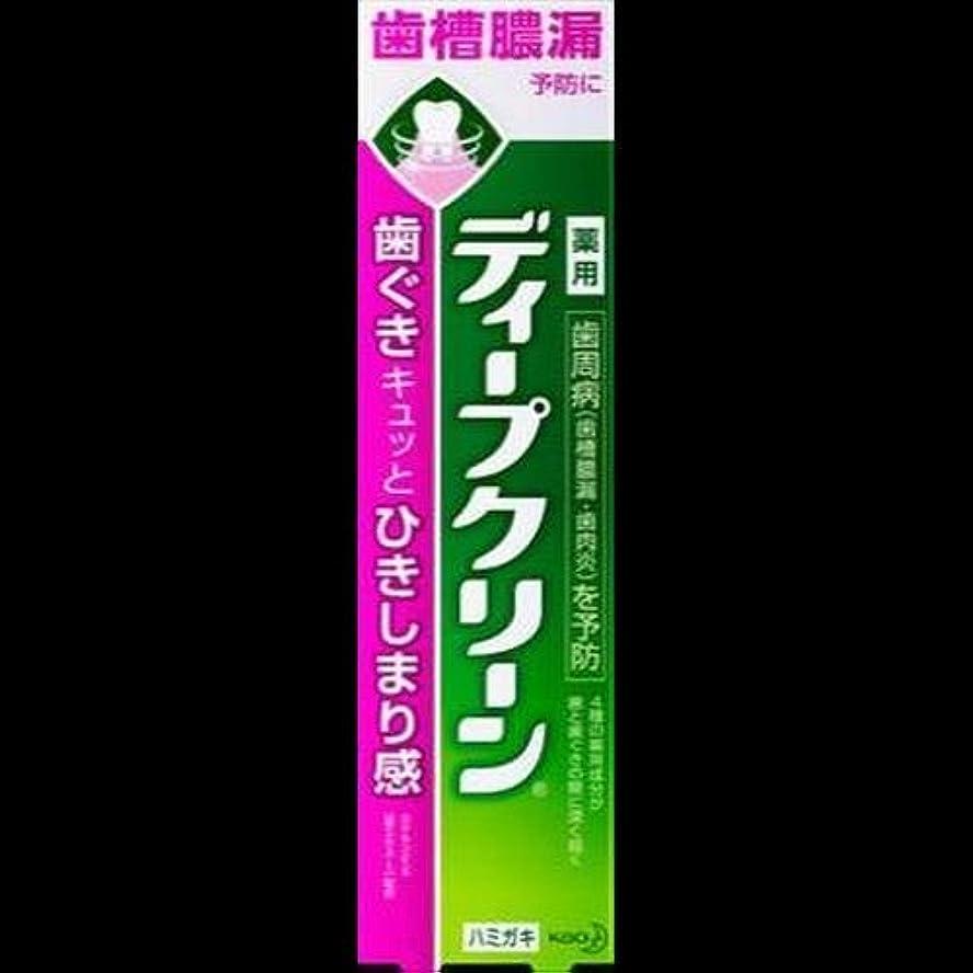 言い聞かせる継続中不誠実【まとめ買い】ディープクリーン 薬用ハミガキ 100g ×2セット