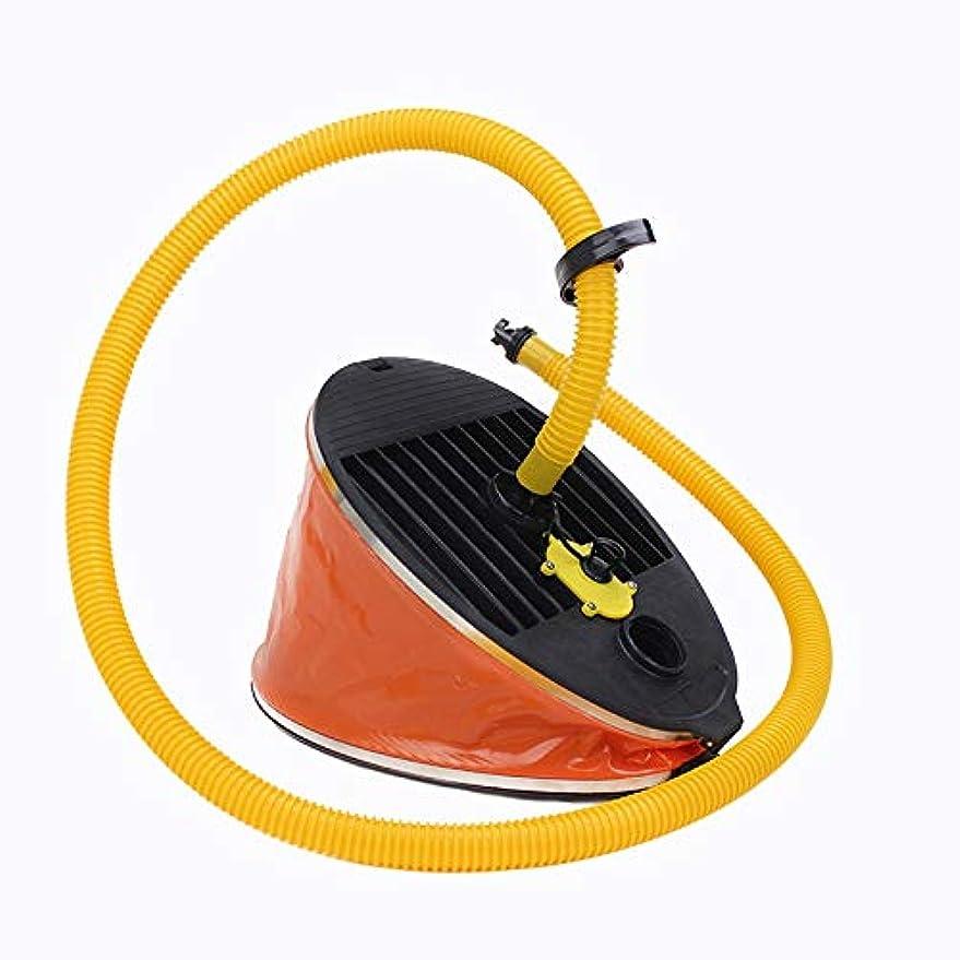 桁相関するウミウシCUHAWUDBA ポータブル屋外インフレータブル高圧力フットポンプエアーポンプボートカヤックラフト用
