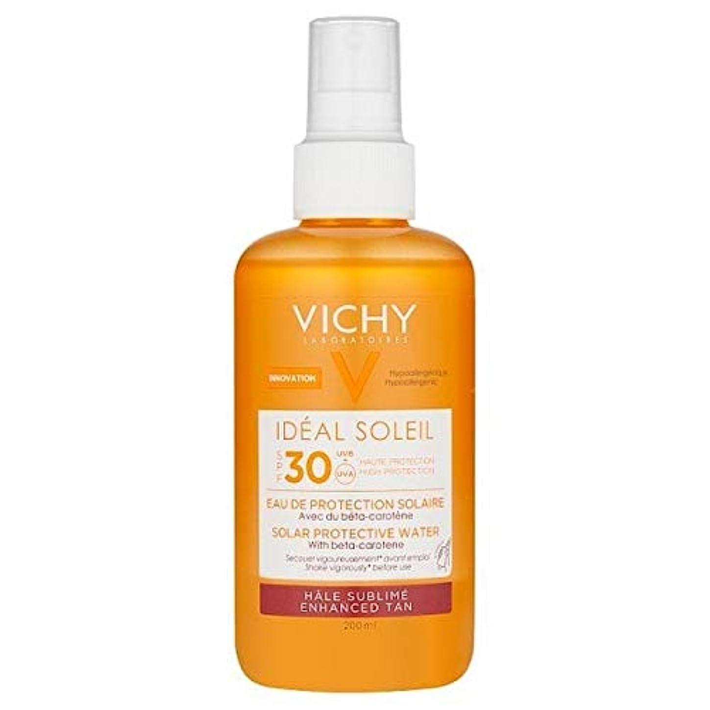 自発引っ張る使用法[Vichy ] ヴィシー理想的ソレイユ日焼け日焼け止め水Spf30の200ミリリットル - VICHY Ideal Soleil Tanning Sun Protection Water SPF30 200ml [並行輸入品]