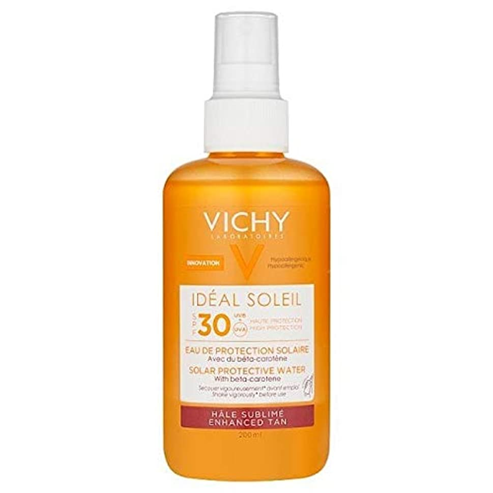 [Vichy ] ヴィシー理想的ソレイユ日焼け日焼け止め水Spf30の200ミリリットル - VICHY Ideal Soleil Tanning Sun Protection Water SPF30 200ml [並行輸入品]