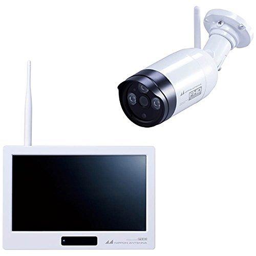 日本アンテナ ワイヤレスセキュリティーカメラタッチパネルモニターセット 「ドコでもeye Security FHD」SC05ST