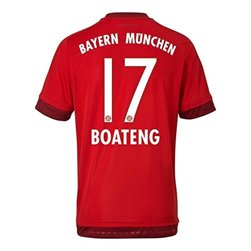 連結するきょうだいピルAdidas BOATENG #17 Bayern Munich Home Jersey 2015-16(Authentic name & number)/サッカーユニフォーム FCバイエルンミュンヘン ホーム用 ボアテング (X-Small)
