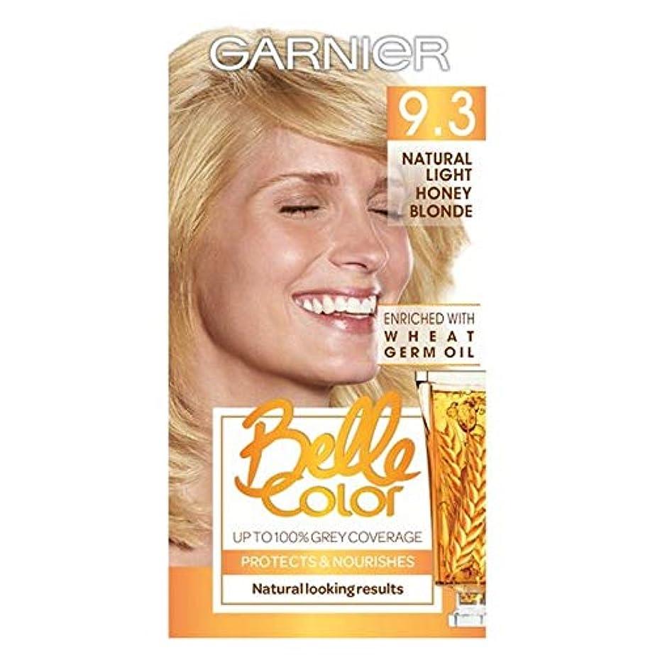 作るダンプ機転[Belle Color] ガーン/ベル/Clr 9.3自然光の蜂蜜ブロンドパーマネントヘアダイ - Garn/Bel/Clr 9.3 Natural Light Honey Blonde Permanent Hair...