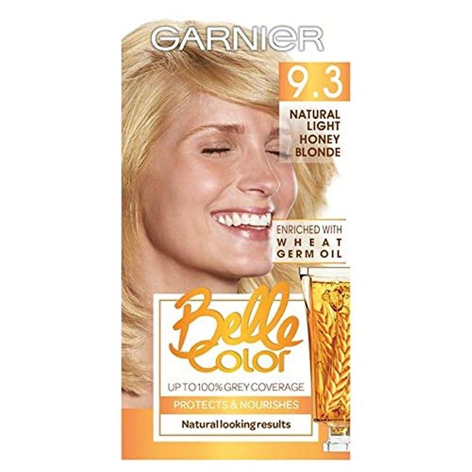 トランク配置詳細な[Belle Color] ガーン/ベル/Clr 9.3自然光の蜂蜜ブロンドパーマネントヘアダイ - Garn/Bel/Clr 9.3 Natural Light Honey Blonde Permanent Hair...