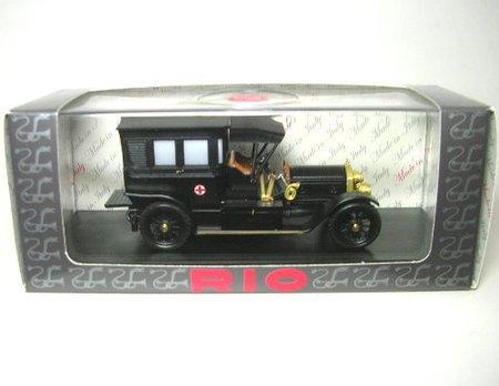 リオ 1/43 メルセデス 救急車 1908 ブラック